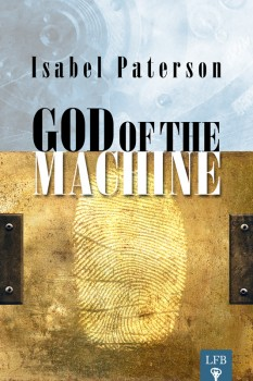 """""""God of the Machine"""" book cover"""
