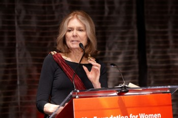 Gloria Steinem attending the Ms. Foundation for Women's 23rd annual Gloria Awards, named for her, on May 19, 2011. photo/ Ms. Foundation for Women via wikimedia