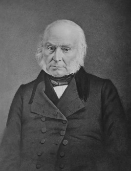 War Department: Office of Chief Signal Officer Portrait of John Quincy Adams between circa 1840 and circa 1848