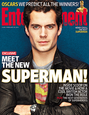 feb252011_Meet the new Superman Henry Cavill EW Cover