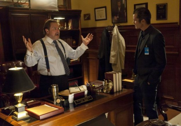 """Stephen Root appearing on """"Justified"""""""