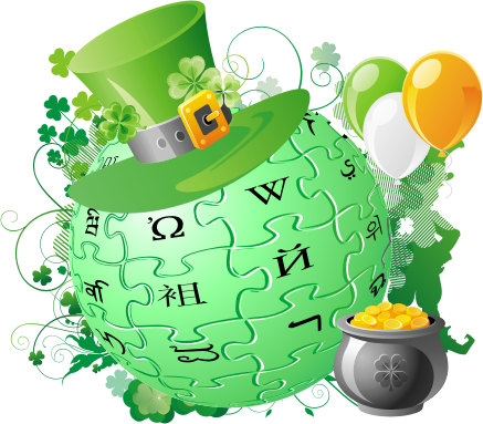 Photo/Towndown 2009 wiki logo for St Pattie's Day