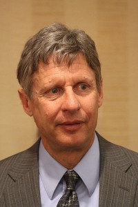 Former New Mexico Gov Gary Johnson photo