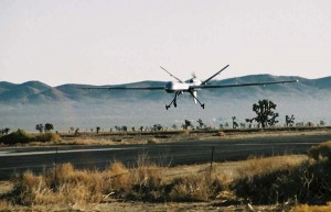 Drone MQ-9 Reaper de l'US Air Force a l'atterrissage Photo/Air Force