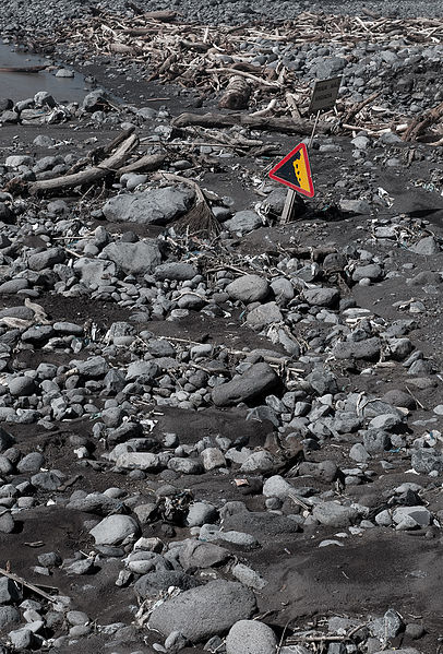 Mudslides Leave Behind Chaos Of Earth Which Has To Be Scavenged