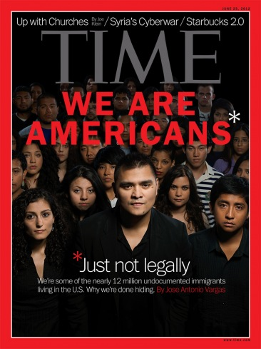 New TIME Magazine covers features Illegal Immigration Photo/TIME