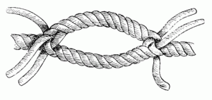 rope, knot