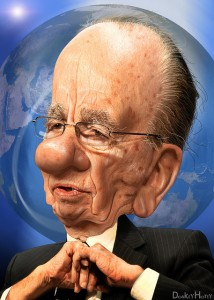 Rupert Murdoch and media consolidation were surely a topic of discussion in Denver this weekend.  Photo/donkey hotey  donkeyhotey.wordpress.com