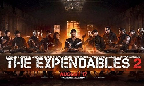 "The Expendables 2 ""Last Supper"" poster/Lionsgate"