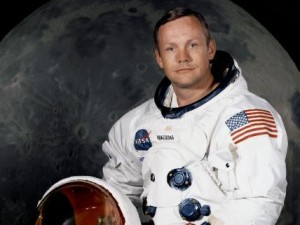 Neil Armstrong official NASA photo