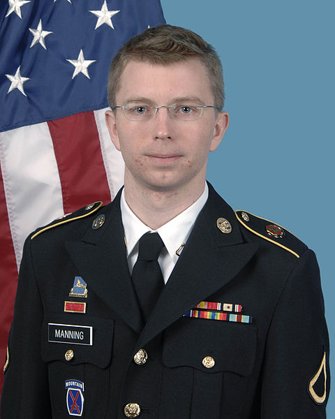 US Army photo Bradley Manning