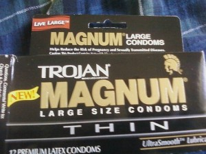 condoms, Trojans
