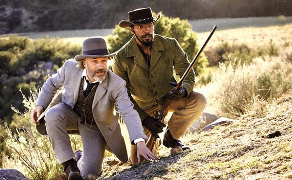 Christoph Waltz Jamie Foxx Django Unchained photo