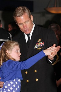 "Naval ""Father-daughter"" dance  U.S. Navy photo by Mass Communication Specialist Seaman Rhonehouse"