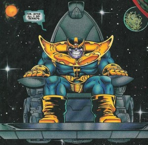 """I am Thanos"" Marvel Comics photo"