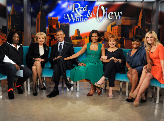 President Obama Michelle Obama on The View