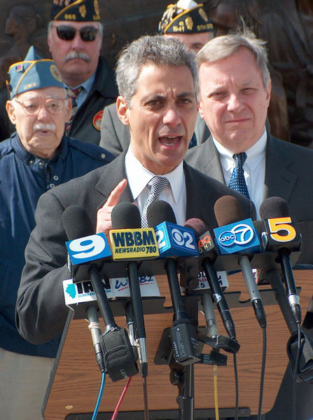 Mayor Rahm Emanuel, former Obama Chief of Staff, says this is 'not the strike' he would have like to see