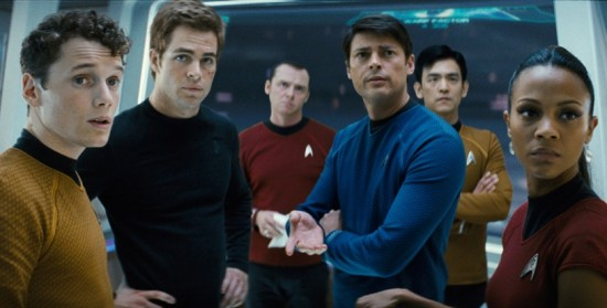 Star Trek 2009 film cast photo