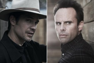 Timothy Olyphant and Walter Goggins Justified photo/ FX