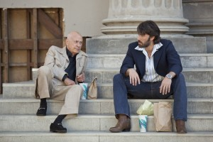 Alan Arkin Ben Affleck steps Argo photo