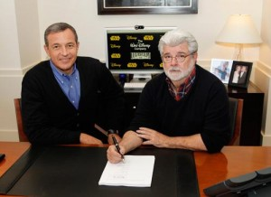 Bob Igor and George Lucas