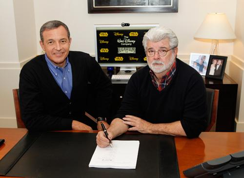 Bob Igor George Lucas Disney Star Wars deal