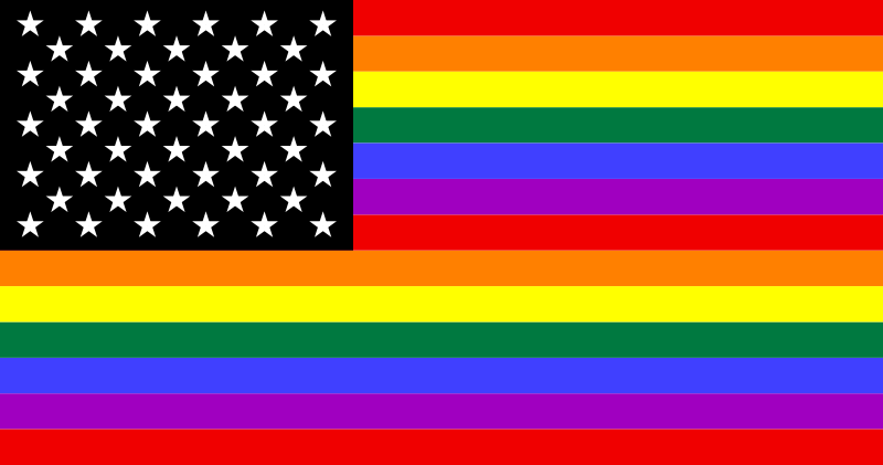 photo  Julyo based on work by Gilbert Baker, 1979 via wikimedia commons