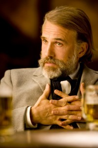 Christoph Waltz in 'Django Unchained'