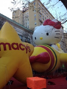 Hello Kitty all set to go for the 86th annual Macy's Thanksgiving Day Parade photo Jinkies Barendse