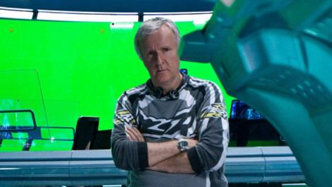 "James Cameron on the set of ""Avatar"" photo 20th Century Fox"