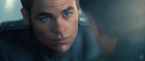 Chris Pine as Captain Kirk Star Trek Into Darkness