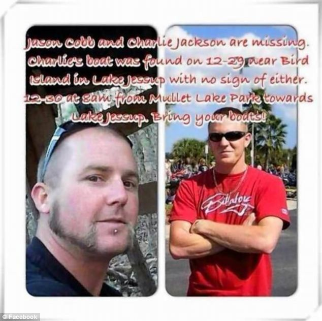 Jason Cobb Charlie Jackson missing