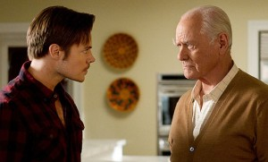 "Josh Henderson and Larry Hagman on TNT's ""Dallas"""