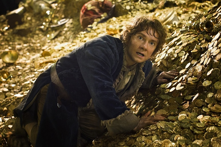 Martin Freeman Bilbo Baggins photo Desolation Smaug
