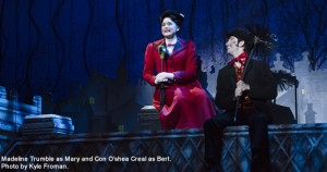 """Madeline Trumble as Mary and Con O'Shea-Creal as Bert in the touring production of the musical """"Mary Poppins. PHOTO BY JEREMY DANIEL/PROVIDED BY STRAZ CENTER"""