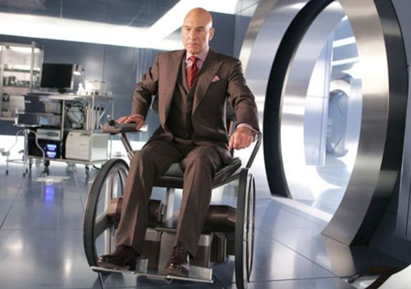 Patrick Stewart as Professor Charles Xavier X-Men photo