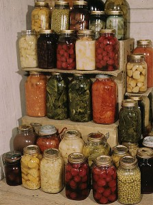 Home-canned foodsImage/Library of Congress