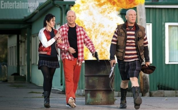 Red 2 photo John Malkovich Bruce Willis and Parker