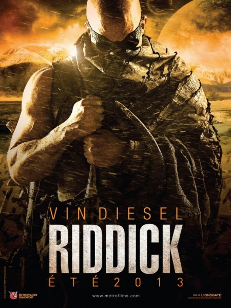 Riddick movie poster