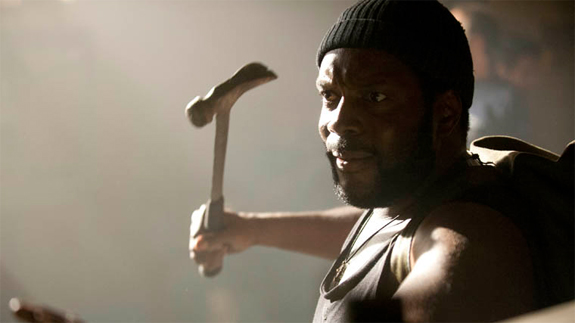 Walking Dead Tyreese with hammer photo
