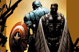 Captain AMerica Falcon comic book photo