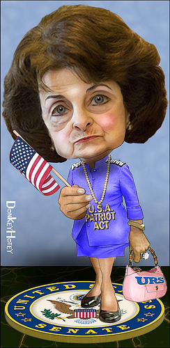 Dianne Feinstein photo donkeyhotey  donkeyhotey.wordpress.com