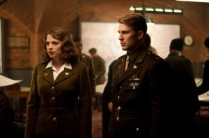 Hayley Atwell Chris Evans Captain America photo