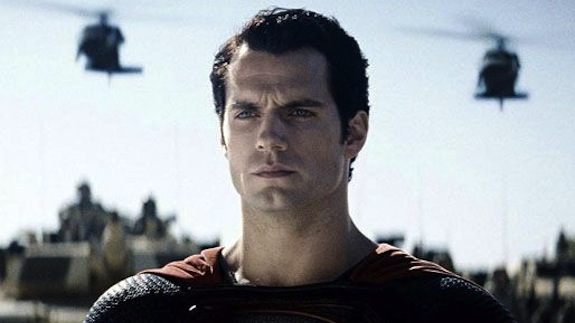 MAN-STEEL-Henry Cavill as Superman