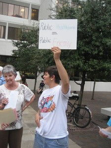 Obamacare will now go from campaign rallies to a full scale marketing campaign, costing millions Photo by Infrogmation
