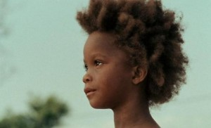 """Quvenzhane Wallis as Hushpuppy in """"Beasts of the Southern Wild"""""""