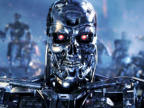 Terminator close up photo