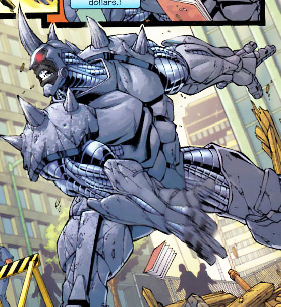 Spider man villain rhino