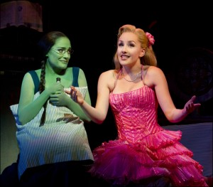 Wicked photo: Christine Dwyer and Jeanna de Waal    photo by Joan Marcus (supplied)