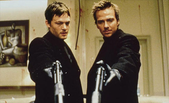 "Sean Patrick Flanery (right) will part of ""Dexter"" season 8"
